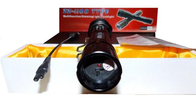 Электрошокер Усиленный ZZ 1108 Titan Professional (Шокер Титан 1108 2014)+инструкция на русском языке - фото 3