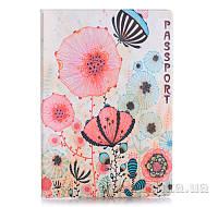 Обложка для паспорта ZIZ Цветы маки ZIZ-10021