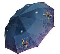 Женский зонт Девочка и кот ( автомат, 10 спиц ) арт. 53616-9