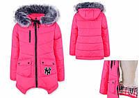 Зимняя детская куртка на девочку.