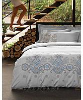 Комплект постельного белья с вышевкой Karaca Home Privat Beyzi голубой