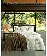 Комплект постельного белья с вышевкой Karaca Home Privat Lavin