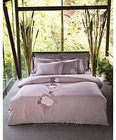 Комплект постельного белья с вышевкой Karaca Home Privat Nazenin