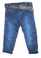 Модные теплые джинсы на махре для мальчика
