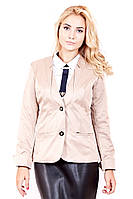 Пиджак женский Оазис (2 цвета), женский пиджак строгий, однотонный женский пиджак, дропшиппинг поставщики