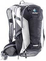 Женский удобный вело-рюкзак рюкзак на 10 л. Compact EXP 10 SL DEUTER  32142 7130, черно-белый