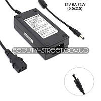 Блок питания для LCD монитора 12V 6А 72W 5.5x2.5 (B)