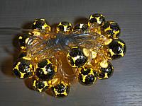 Гирлянда Золотая ШАРИКИ