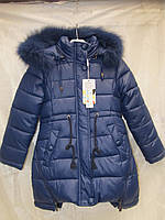 Зимова куртка парка для дівчинки