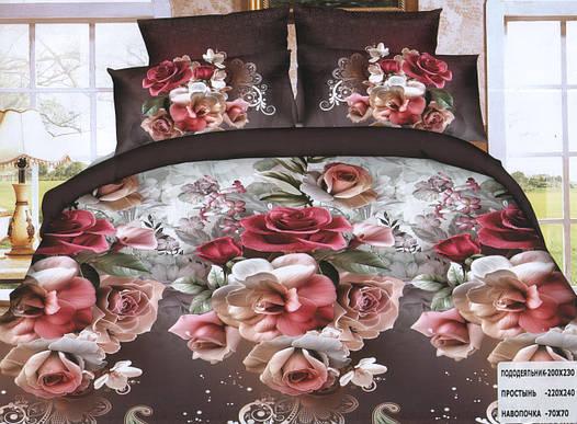 Комплект постельного белья (двуспальный) - № 744.2