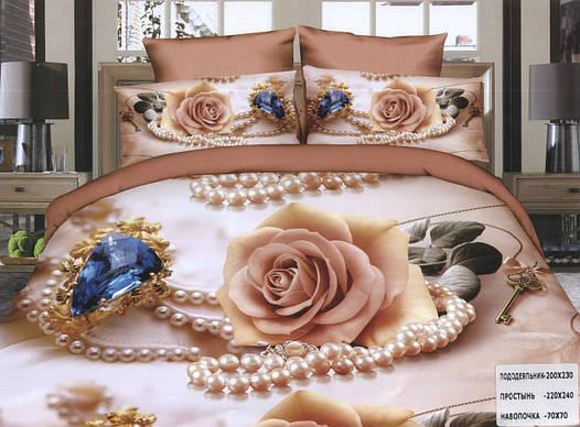 Комплект постельного белья (двуспальный) № 757.2
