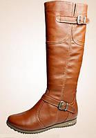 Зимняя обувь на низком ходу