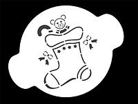 "Трафарет для декорирования ""Рождество"" Martellato (40-W178)"