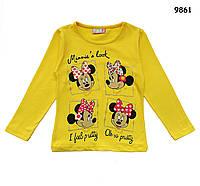 Кофта Minnie Mouse для девочки. 1-2; 3-4; 5-6; 7-8 лет