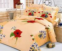 Шикарное постельное белье с маками