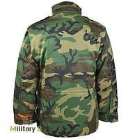 Куртка М65 с подкладкой (Woodland)