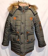 Зимняя  куртка   парка для мальчиков и подростков