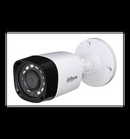 "HDCVI видеокамера Dahua DH-HAC-HFW1000R-S3 . 1Мп, 1/4""CMOS, f=3.6, 0.Л, Ик=20м, IP66"