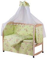 Комплект детского постельного в манеж Gold Qvatro 60363