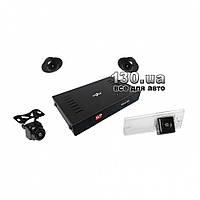 Штатная система кругового обзора Gazer CKR4400-SL с функцией видеорегистратора и записью с 4-х камер для KIA Sportage (SL) 2013+