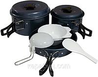 Набор посуды с антипригарным покрытием  TRC-023 Tramp