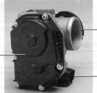 Патрубок дроссельный, дроссель, ВАЗ 1118 Калина, E-GAS 8 кл. DELPHI