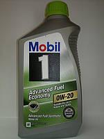 Синтетическое моторное масло Mobil 1   0W-20  Advanced Full  Economy
