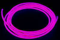 Неоновый провод фиолетовый, 3-го поколения 2,2 мм,.