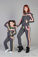 Спортивные костюмы для девочек от производителя, 3-4, 5-6, 7-8, 9-10, 11-12 лет