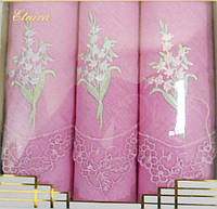 Носовые платки женские 100% хлопок Etnica в подарочной упаковке