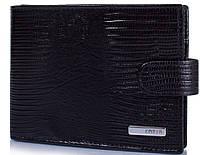 Стильный мужской кошелек из кожи под змею KARYA (КАРИЯ) SHI0418-076
