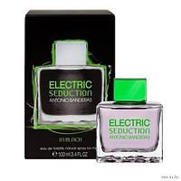 Antonio Banderas Electric Seduction in Black (антонио бандерос электрик седакшн блэк мужской)