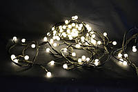 """Светодиодная гирлянда """"жемчуг"""" на 100 LED и 9 метров в длину."""