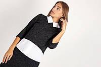 Качественная женская блуза с воротничком