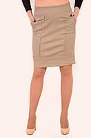Юбка женская из джинса, одежда для молодежи, Ю 792606 , хлопок 100 %, юбка в спортивном стиле.