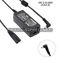 Блок питания для ноутбука Asus Eee PC 1101HA 19V 2.1A 40W 3.0х1.0 (B)