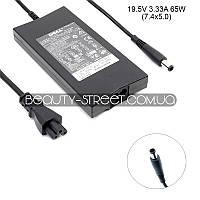 Блок питания для ноутбука Dell Latitude 100, 100L, 110 19.5V 3.33A 65W 7.4x5.0 (B)