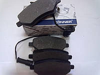 Колодки тормозные передние Chery Estar B11 (Чери Истар Б11) A21-6GN3501080BA, KӦNNER (Корея).