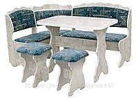 Кухонный уголок с раскладным столом Цезарь