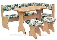 Кухонный уголок с раскладным столом Принц