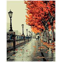 Набор для рисования по номерам Осенний сквер
