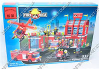 Конструктор BRICK 911 Пожарная охрана, 980 дет