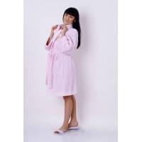 Халат женский махровый Marca Marco Milano розовый размер XXL, L