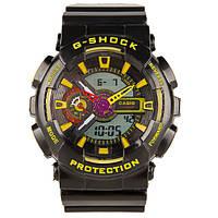 Мужские спортивные часы Casio G-Shock ga-110 Blue