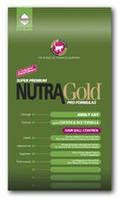 Nutra Gold Hairball control  для взрослых кошек (вывод шерсти) 18кг