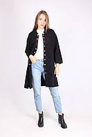 Красивое женское пальто из качественного материала