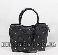 Модная  вместительная сумка с оригинальным декором