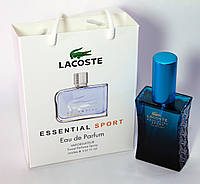 Мини парфюм Lacoste Essential Sport в подарочной упаковке 50 ml