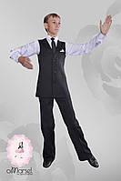 Жилет с лацканами для бальных танцев