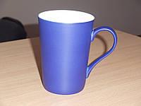 Чашка сублимационная Хамелеон Latte матовая Синяя